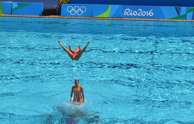 Como é o Nado Artístico na Olimpíada