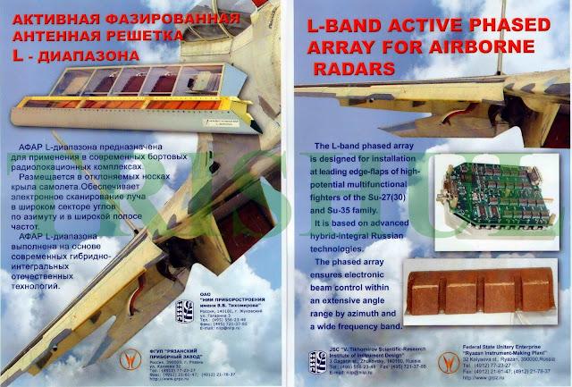 IRBIS-E  PESA RADAR N012  OLS-35