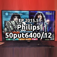EP2015.5 Philips 50put6400/12 e AndroidTV