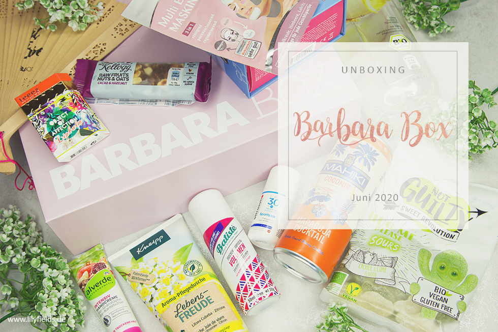 Barbara Box - Juni 2020 - unboxing