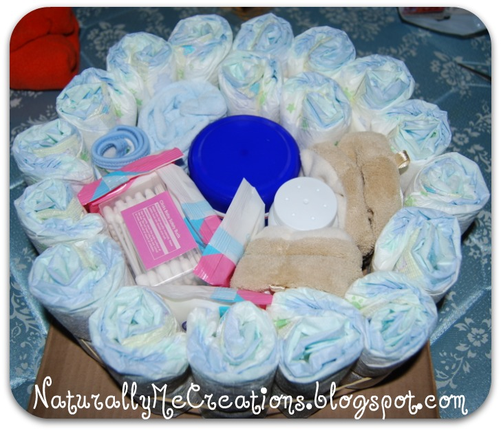 Baby Nappy Cakes How To Make