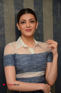 Actress Kajal Agarwal Latest Stills at Khaidi No 150 Movie Interview  0045.JPG