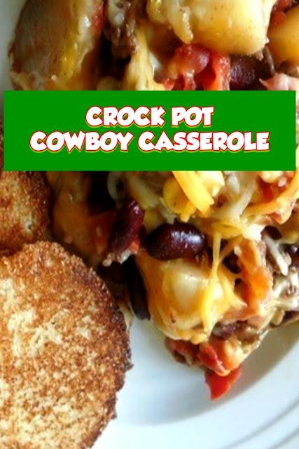 #CROCK #POT #COWBOY #CASSEROLE