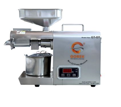 Gorek Technologies GT-OT Oil Press, Oil Maker Machine 600W Advanced Technology- with Simplified Temperature Controller and Higher Capacity