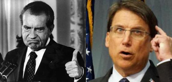 Richard Nixon and Pat McCrory