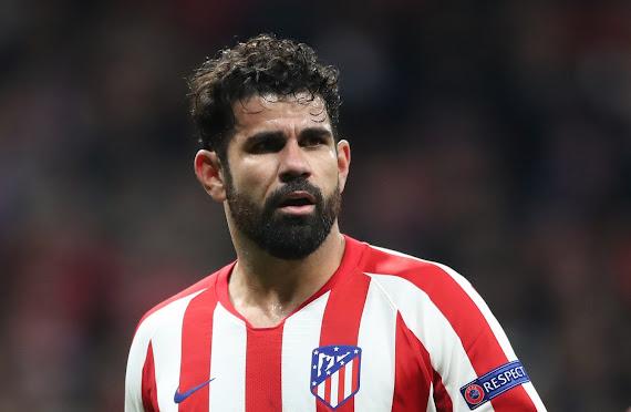 كوستا يعود لتدريبات أتليتكو مدريد