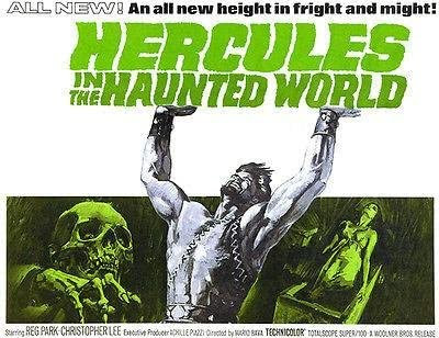 Hercules in the Haunted World Poster