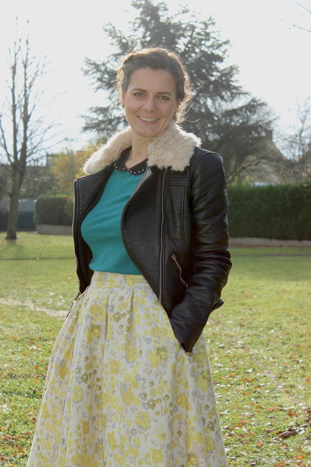 Comment porter une jupe d'été en hiver, les petites bulles de ma vie