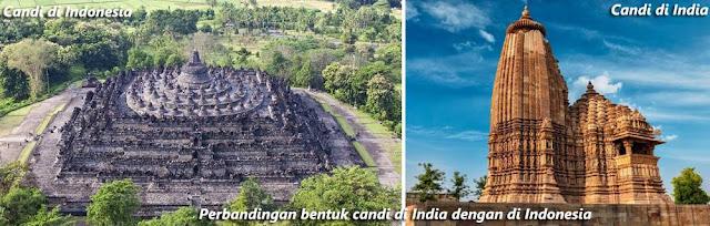 Wujud Akulturasi Budaya India Dengan Budaya Indonesia