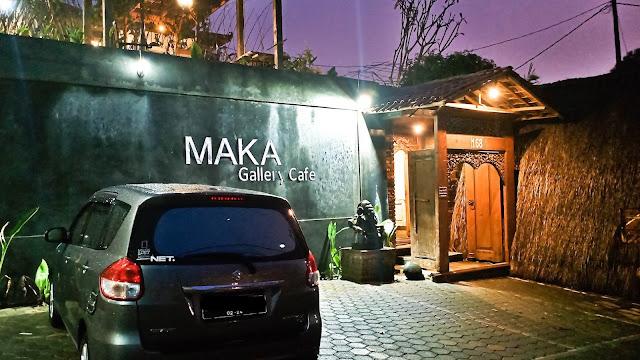 maka gallery cafe dago lembang