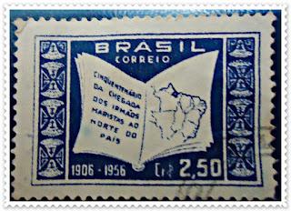 Resultado de imagem para selo de Marcelino Champagnat