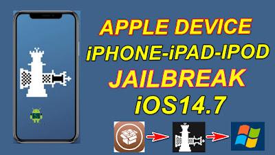 iOS14.7 Jailbreak Windows With Checkra1n0.12.4 & Install Cydia.