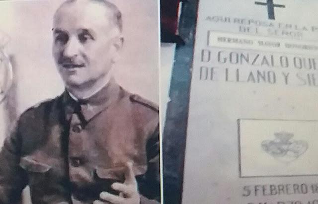 El general franquista Queipo de LLano será exhumado de la basílica de La Macarena
