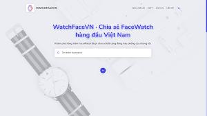 Chia sẻ theme blogspot WATCHFACEVN lưu trữ và chia sẻ mặt smart watch