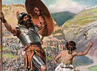 Raksasa Goliath yang Disebut dalam Alkitab