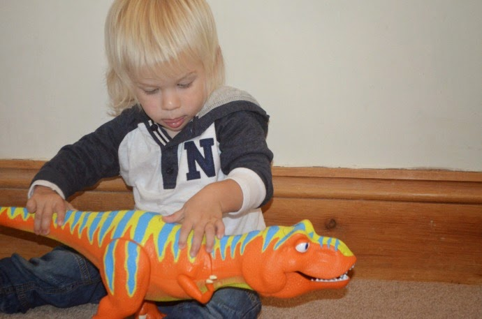 dinosaur train, boris interactive toy