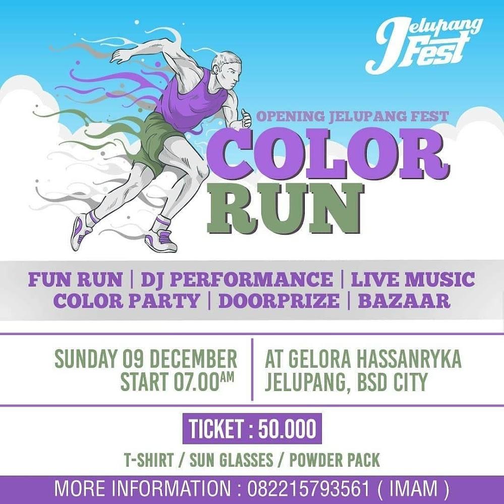 Jelupang Fest Color Run • 2018