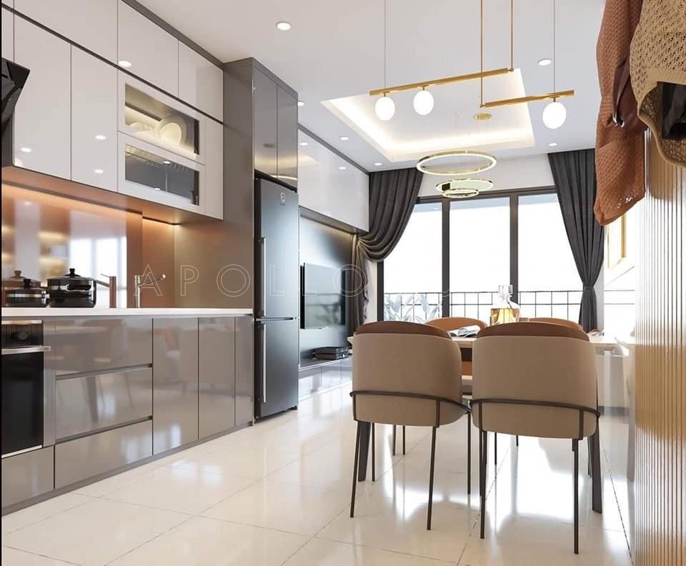Thiết kế nội thất căn hộ 65m2 Vinhomes Smart City Tây Mỗ
