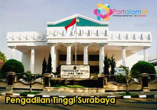 Alamat Pengadilan Tinggi Surabaya