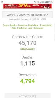CORONAVIRUS ON EPIDEMIOLOGY STATISTICS