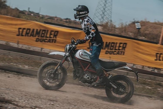 Mariaelena Caizzi Ducati Scrambler