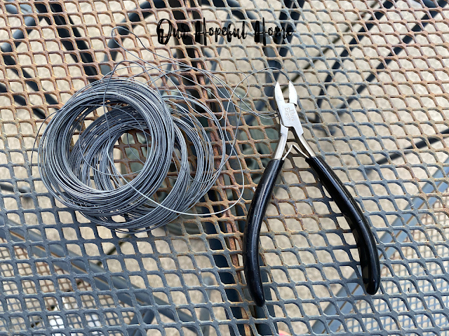 picture hanging wire cutters