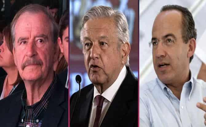Fox, Calderón, Obrador