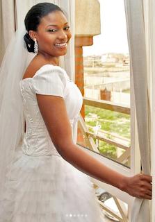 Photo of I Ibidun Ajayi-Ighodalo on her wedding day