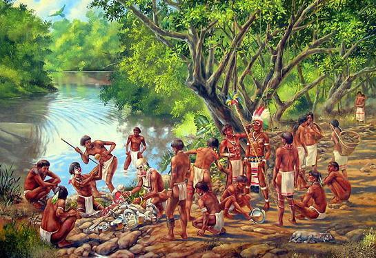 Resultado de imagen para el mundo segun los caribes