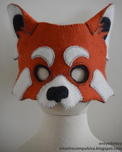 red panda mask