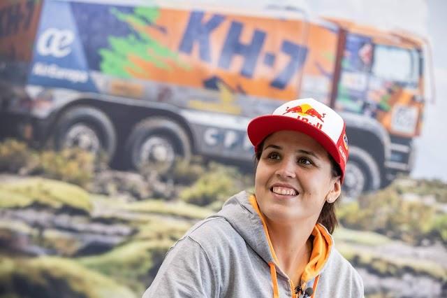 Laia Sanz regresa a la familia KH-7, ya se preparan para el Dakar 2021