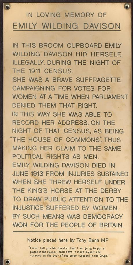 , Emily Wilding Davison Died 104 Years Ago Today Fighting for the Right to Vote, Please Use Your Vote