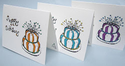 birthday card happy drawing drawings designs funny cards cake inside examples station