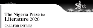 NLNG Prize for Literature 2020 [$100,000 for Grab] | Call for Entries
