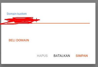Memasukan Domain Kustom IDCloudhost