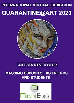 exposição virtual internacional de arte QUARENTIN@ART 2020