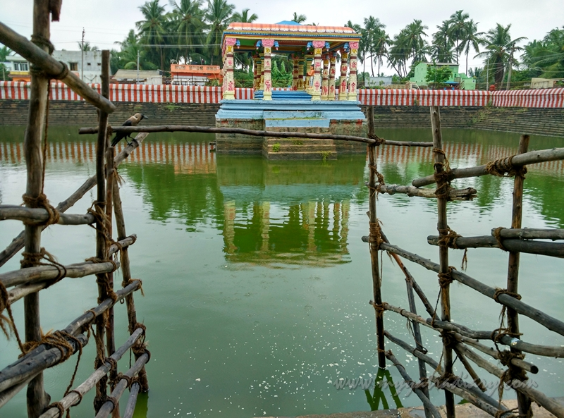 Calm Pond at Lakhsmana Teertham, Rameshwaram