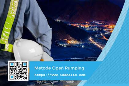 Penjelasan Metode Open Pumping Dewatering