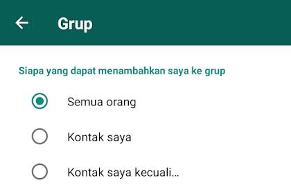 Cara Mudah Menolak Undangan Grup di WhatsApp (WA)