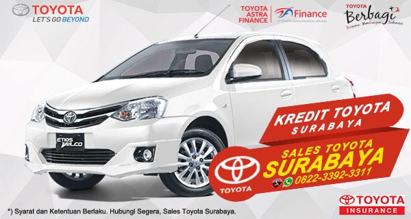 Promo DP Ringan, Paket Kredit Toyota Etios Valco Surabaya