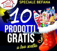 Logo Casa Henkel Speciale Befana : 10 prodotti gratis a tua scelta