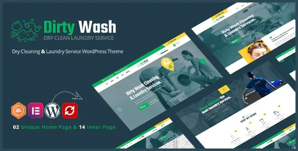 Best Laundry Service WordPress Theme