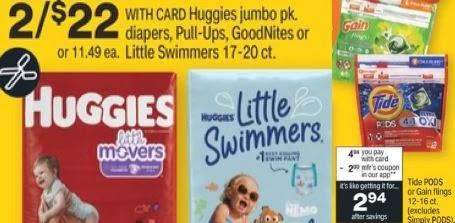 huggies tide deal cvs