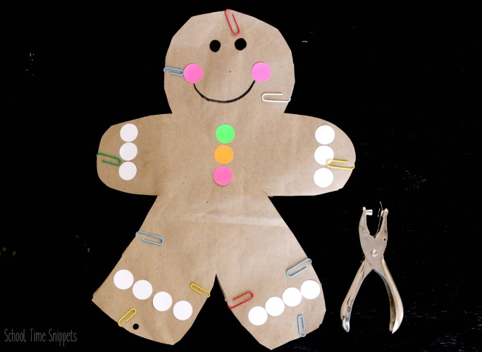 gingerbread man craft how-to