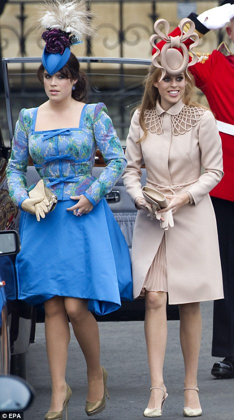 Beatrice and Eugenie are stripped of their 24-hour protection after row over £50,000 annual cost