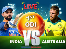 Live cricket India vs Australia 1st ODI 2019, full highlight