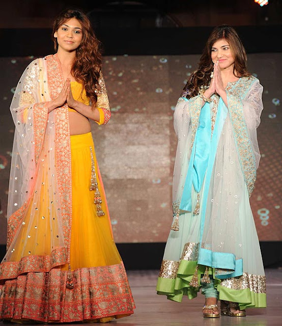 Stars Walk the Ramp for Manish Malhotra - Lilavati Hospital's 'Save & Empower Girl Child' Show