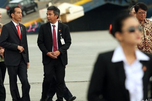 Paras Cantik Paspampres Presiden Jokowi