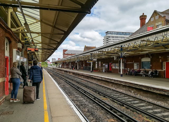 Photo of Basingstoke station