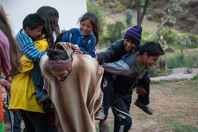 Imagen de uno de los proyectos educativos de Perú.